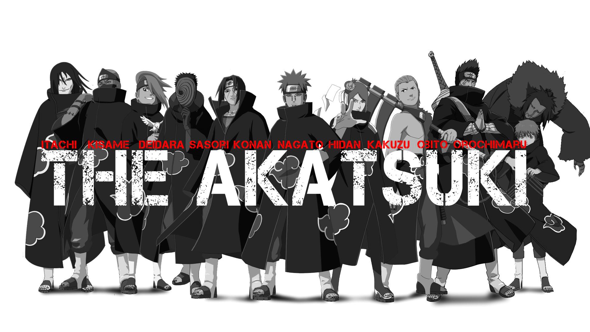 download gambar Akatsuki naruto