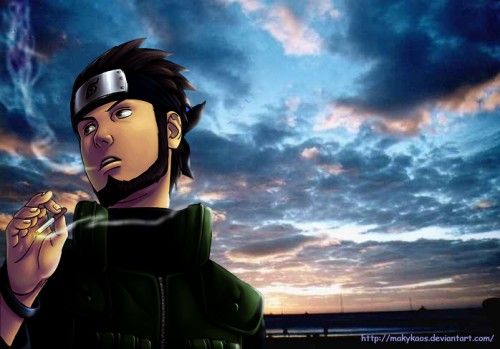 download gambar Asuma naruto